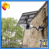 Lámpara al aire libre accionada solar inteligente de la luz LED del parque del jardín de la calle