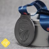 2018 Nouvelle conception ruban métallique Médaille personnalisé