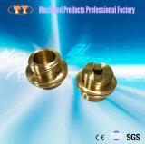 CNCの機械化の精密真鍮の速いコネクターの管付属品の管継手