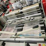 Líneas dobles de alta velocidad bolso de compras plástico automático que hace la máquina