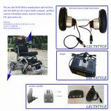 250W 24V plegable con respaldo alto poder de la movilidad del motor de la silla de ruedas