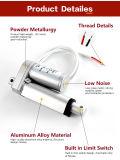 actuadores lineares eléctricos del movimiento 500n de 12V 100m m para el CE del paso de la cama de hospital