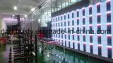 Afficheur LED visuel avant polychrome extérieur de la maintenance P10 SMD3535 pour la publicité