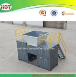 폐기물 스틸 드럼 또는 금속 드럼 또는 금속은 또는 플라스틱 드럼 또는 플라스틱 배럴 두 배 샤프트 슈레더 할 수 있다