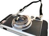 Caso combinato del coperchio del silicone del telefono mobile della macchina fotografica del fornitore della Cina della cassa del telefono della macchina fotografica di lusso 3D per il iPhone 6 6s