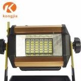 COB portátil de 36 Proyectores LED de iluminación exterior reflector recargable