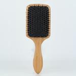 Brosse à cheveux de palette brosse à cheveux en bois de poils de sanglier