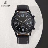 Form-Armbanduhr-Mann-lederne Uhrenarmband-kundenspezifische Firmenzeichen-Uhr 72904