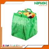 Chariot de supermarché réutilisables Sac shopping en polyester