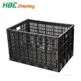 Супермаркет пластиковые складные ящик для овощей и фруктов