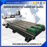 1300x2500mm gravura de madeira 3D Máquina de Trabalho de Corte Router CNC