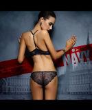 Jeu avant de sous-vêtements de lingerie de Panty de soutien-gorge de fermeture de dames sexy de Y-Type