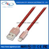 Фги сертифицированные кожа молнии для кабеля USB Прочный кабель для зарядки iPhone X 8/8+ 7/7+