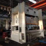 máquina da imprensa de potência 250t mecânica com corpo do frame de C e a manivela dobro
