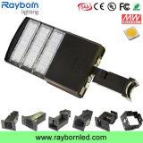 動きセンサーLEDの靴箱ライトかShoebox LEDの照明器具150W