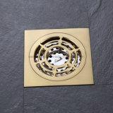 Sanitarios baño de oro de drenaje de piso purgador