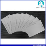 карточка удостоверения личности PVC Clamshell RFID контроля допуска 125kHz пустая