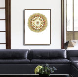 Abstrakte Wand-hängende Abbildung mit Rahmen für Dekoration