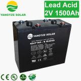 鉛の酸2V 1500ahの太陽電池の記憶