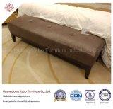 Элегантный отель мебель с одной спальней с кроватью из натуральной кожи (стенд YB-E-20)