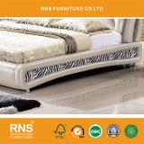 A8630 현대 본래 디자인 연약한 가죽 가구 침대