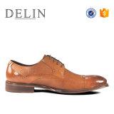 2018 estilo empresa Antideslizantes hombres zapatos de cuero