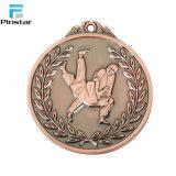 Progettare le medaglie per il cliente poco costose del metallo d'argento in bianco senza nastro