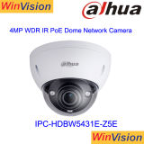 Hot Sale Dahua caméra de sécurité dôme Vandalproof H265 100m Distane infrarouge Poe Ipc-Hdbw 4MP caméra IP5431E-Z5E