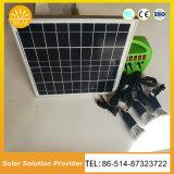 Bewegliche AC/DC ausgegebene Solarbeleuchtungssystem-Solarhauptinstallationssätze