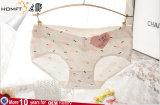 Nuevo diseño de las mujeres 95% algodón COLOR SÓLIDO Briefs Dama Bowknot bajo cintura Panty ropa interior