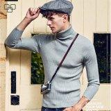 2017 lange Hülsen-Komprimierung-Schweiss-Großhandelshemden für Männer strickten Turtleneck-Hemd
