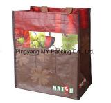 Sacs d'achat promotionnels LDPE réutilisables et respectueux de l'environnement