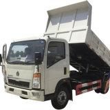 Hot Sale 5 Mètres cubes 6wheeler HOWO Sinotruk nouveau 4X2 Diesel benne de camion à benne