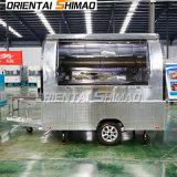 Vélo panier alimentaire Carrelli Fast Food Café Usati Kiosque panier alimentaire de métal