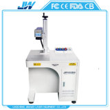 20W máquina de marcação a laser para impressão de logotipo dons artesanais de plástico de metal marca padrão