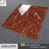 Los azulejos del Irán moderno baratos salón acristalado Pulido Jade baldosa de mármol rojo