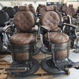 فضة لون كرسيّ مختبر [بلينغ] صالون حلّاق كرسيّ مختبر نجم قاعدة كرسيّ مختبر