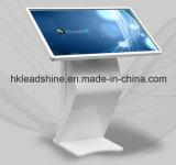 55inch vloer die het Interactieve Scherm LCD Media Player bevinden zich van de Aanraking