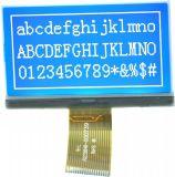 白の背部ライトが付いている12864の図形LCDモジュールの表示