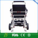 Nueva aleación del magnesio de Jbh plegable el sillón de ruedas eléctrico portable de la batería de litio de la potencia