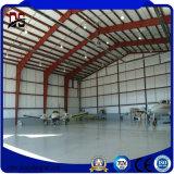 Hangar modular de los aviones de la estructura de acero de la casa
