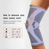 Knie-Komprimierung-Hülsen-Support für das Laufen, rüttelnd, Sport