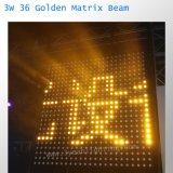 Свет 3W 36PCS СИД луча матрицы теплого цвета золотистый