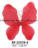 Handmade 굉장한 기털 천사 나비 당 날개