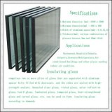 Baixo-e vidro de vidro/oco isolado/vidro vitrificado dobro