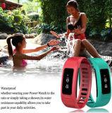 IP56はBluetooth H6の腕時計のリスト・ストラップのスマートなブレスレットを防水する