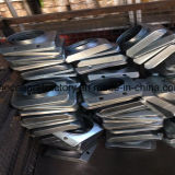 Latas del acero inoxidable de China para el precio de la placa de la puerta de diapositiva