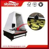 Alta cortadora auto del laser de la versión Fy-1816 para el plástico del cuero de la tela