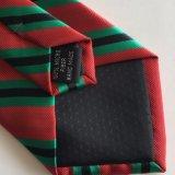 Lazo tejido telar jacquar hecho a mano de la insignia del poliester de los hombres (L064)