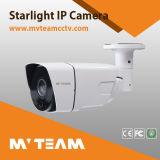 Cámara al aire libre inferior Mvt-M1880s del IP de la luz de las estrellas de la iluminación H. 265 1080P 2MP Poe